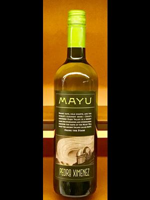 Wine MAYU PEDRO XIMENEZ 'ELQUI-ANDES' 2017