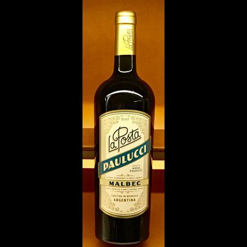 Wine LA POSTA MALBEC 'PAULUCCI VINEYARD' 2018