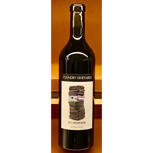 Wine FOUNDRY VINEYARDS ARTISAN BLEND RED 2011