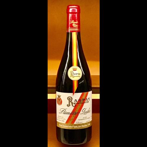 Wine PRIMITIVO QUILES RASPAY TINTO 2008