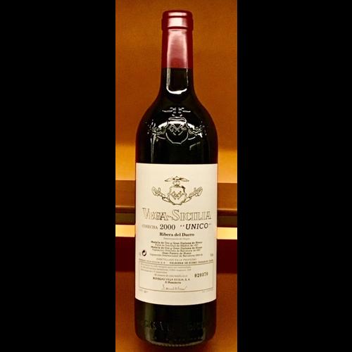 Wine VEGA SICILIA 'UNICO' 2000