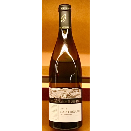 Wine BUISSON SAINT ROMAIN LA PERRIERE 2015