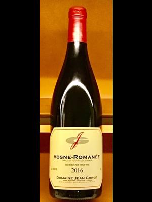 Wine JEAN GRIVOT VOSNE ROMANEE 2016