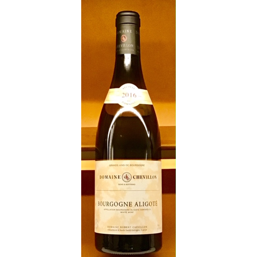 Wine ROBERT CHEVILLON BOURGOGNE ALIGOTE 2016