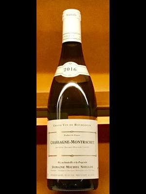 Wine MICHEL NIELLON CHASSAGNE-MONTRACHET BLANC 2016