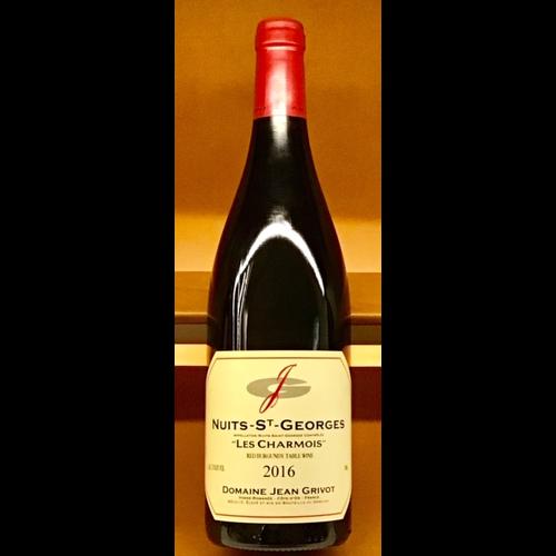 """Wine JEAN GRIVOT NUITS-SAINT-GEORGES """"LES CHARMOIS"""" 2016"""