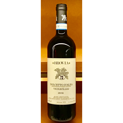 "Wine BROVIA DOLCETTO D'ALBA ""VIGNAVILLEJ"" 2016"