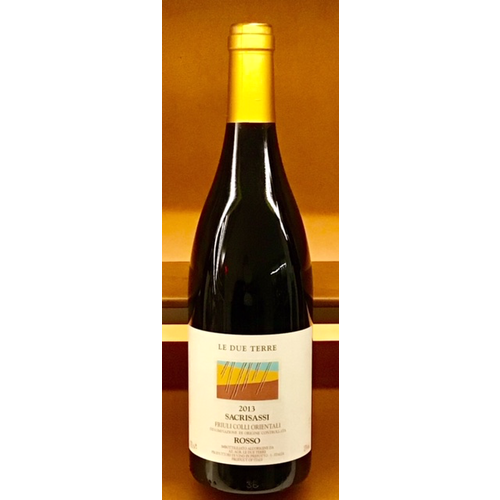 Wine LE DUE TERRE SACRISASSI ROSSO 2013