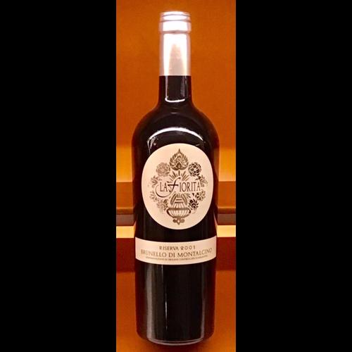 Wine LA FIORITA BRUNELLO DI MONTALCINO RISERVA 2001