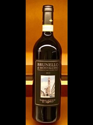 Wine CANALICCHIO DI SOPRA BRUNELLO DI MONTALCINO 2013