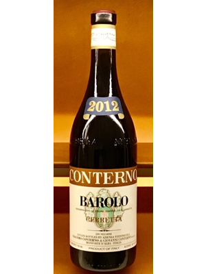 Wine GIACOMO CONTERNO BAROLO 'CERRETTA' 2012