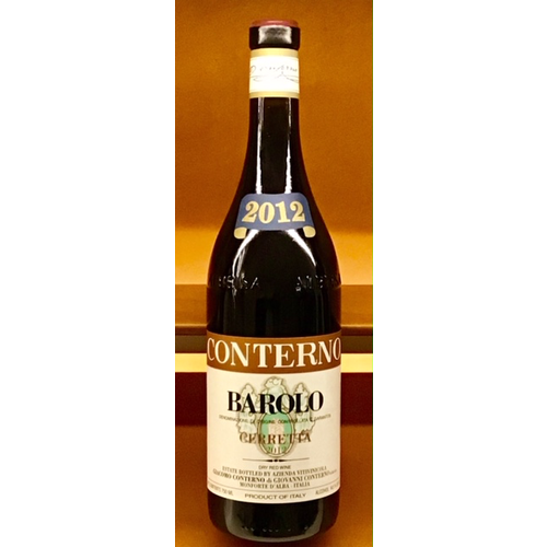 Wine GIACOMO CONTERNO BAROLO 'CERRETTA' 2012 1.5L