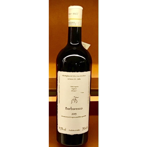 Wine FABIO GEA BARBARESCO 2013