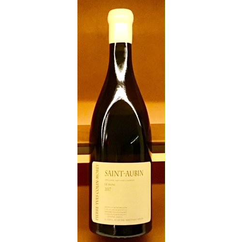 Wine PIERRE-YVES COLIN-MOREY SAINT-AUBIN 'LE BANC' 2017