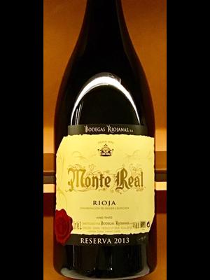 Wine BODEGAS RIOJANAS 'MONTE REAL' RIOJA RESERVA 2013 3L