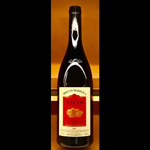 Wine BRICCO MAIOLICA TRIS LANGHE ROSSO 2016