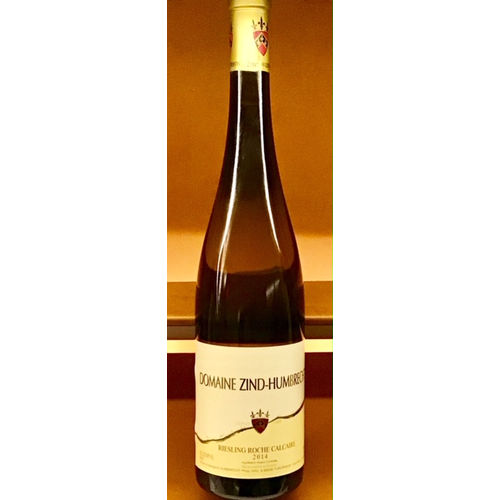 Wine ZIND-HUMBRECHT RIESLING ROCHE CALCAIRE 2014