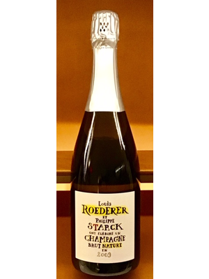 Sparkling LOUIS ROEDERER ET PHILIPPE STARCK BRUT NATURE CHAMPAGNE 2009