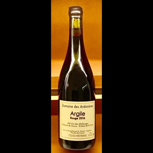 Wine DOMAINE DES ARDOISIERES CUVEE ARGILE ROUGE 2016
