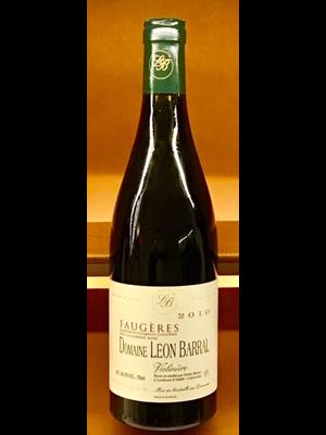 Wine LEON BARRAL 'VALINIERE' FAUGERES 2010