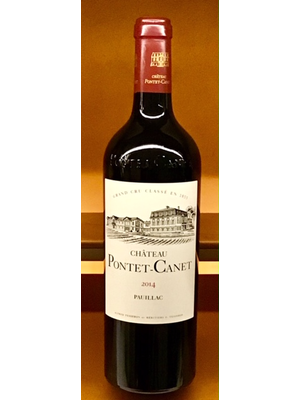 Wine CH PONTET CANET 2014
