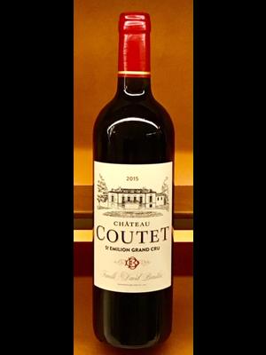 Wine CHATEAU COUTET SAINT EMILLION GRAND CRU 2015