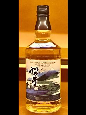 Spirits MATSUI MIZUNARA CASK SINGLE MALT JAPANESE WHISKY