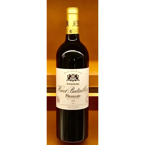 Wine CHATEAU HAUT BATAILLEY PAUILLAC 2005