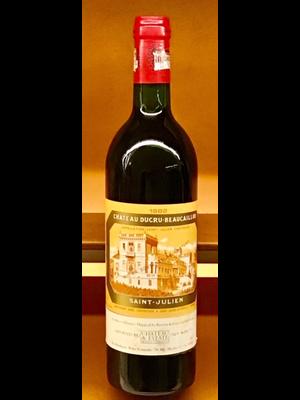 Wine CH DUCRU BEAUCAILLOU 1982