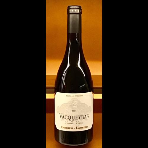 Wine TARDIEU-LAURENT VACQUEYRAS VIELLES VIGNES 2015
