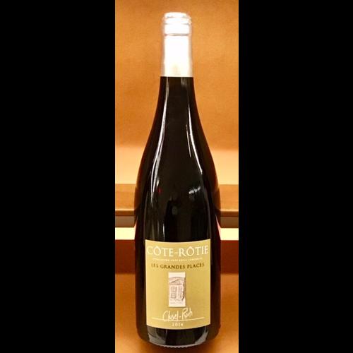 Wine CLUSEL-ROCH COTE-ROTIE LES GRANDES PLACES 2014