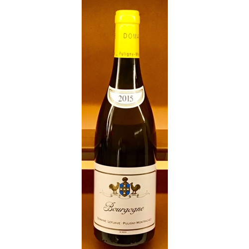 Wine DOMAINE LEFLAIVE BOURGOGNE BLANC 2015