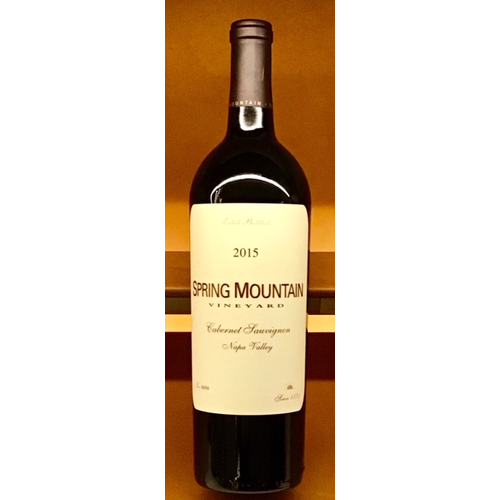 Wine SPRING MOUNTAIN VINEYARD ESTATE CABERNET SAUVIGNON 2015