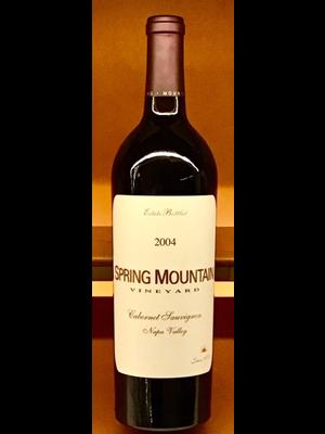 Wine SPRING MOUNTAIN VINEYARD ESTATE CABERNET SAUVIGNON 2004