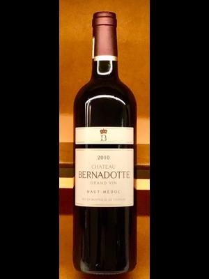 Wine CHATEAU BERNADOTTE HAUT-MEDOC 2010