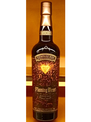 Spirits COMPASS BOX FLAMING HEART SCOTCH WHISKEY