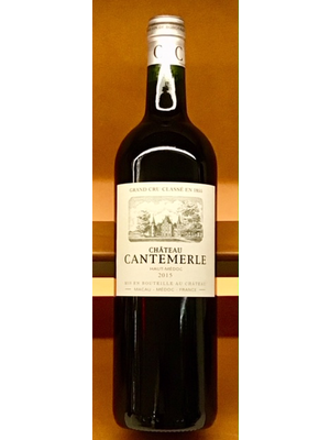 Wine CHATEAU CANTEMERLE HAUT MEDOC 2015