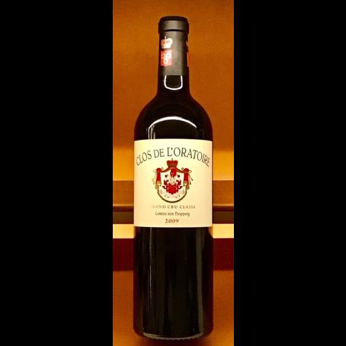Wine CLOS DE L'ORATOIRE SAINT-EMILION 2009