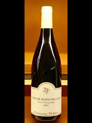 Wine DOMAINE PETITOT COTE DE NUITS-VILLAGES 'TERRES BURGONDES' 2015