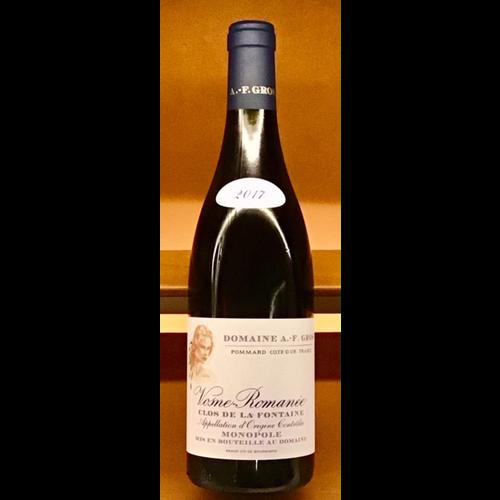 Wine DOMAINE A.-F. GROS 'CLOS DE LA FONTAINE' MONOPLE VOSNE-ROMANEE 2017