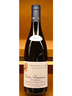Wine DOMAINE A.-F. GROS 'AUX-REAS' VOSNE-ROMANEE 2017