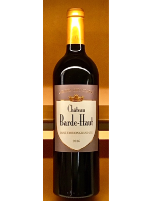 Wine CHATEAU BARDE-HAUT SAINT EMILION GRAND CRU 2016