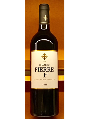 Wine CHATEAU PIERRE 1ER SAINT-EMILION GRAND CRU 2016