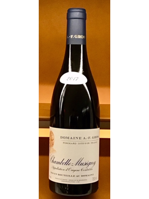 Wine DOMAINE A.-F. GROS CHAMBOLLE-MUSIGNY 2017