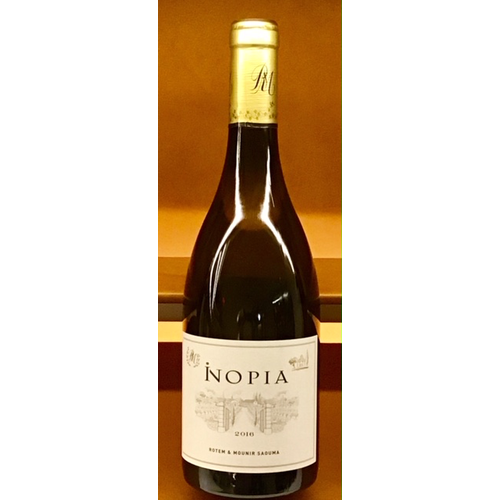 Wine ROTEM & MOUNIR SAOUMA 'INOPIA' COTES DU RHONE BLANC 2016