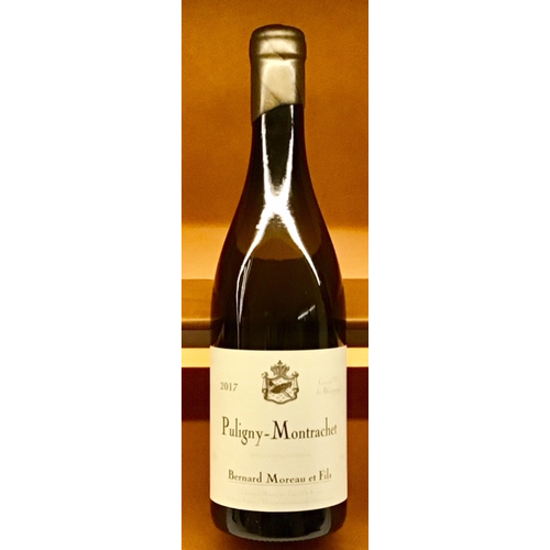 Wine BERNARD MOREAU PULIGNY-MONTRACHET 2017