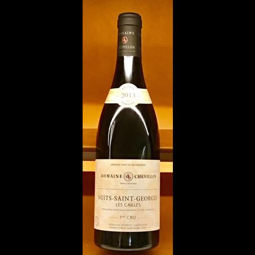 Wine ROBERT CHEVILLON NUITS SAINT GEORGES 'LES CAILLES' 1ER CRU 2013