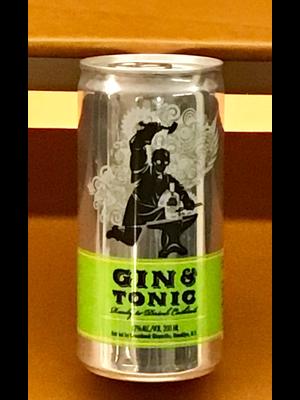 Spirits GREENHOOK GINSMITHS GIN & TONIC 200ML