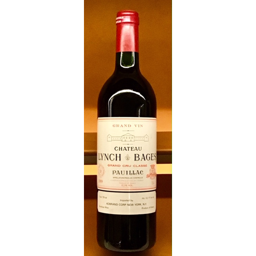 Wine CH LYNCH BAGES 1989