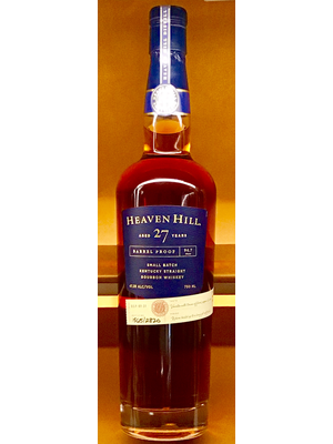 Spirits HEAVEN HILL SMALL BATCH BOURBON 'BARREL PROOF' 27 YEARS